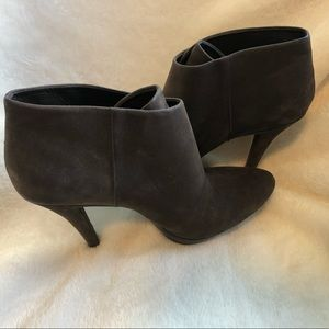 Nine West Brown Bootie 8.5